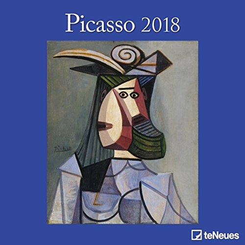 2018 Picasso Calender - teNeues Grid Calendar- Art Calender - 30 x 30 cm