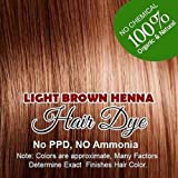 Henna Hair Color – 100% Organic and Chemical Free Henna for Hair Color Hair Care Light Brown Henna Henna Hair Dye 60 Grams (1 Pac... Amazon
