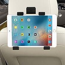 Soporte Tablet Coche, Rusee Universal Car Headrest Soporte Tablet Ajustable al Reposacabezas para iPad 2/3/4 / Mini / Air, Samsung Galaxy Tab, Microsoft Surface, Google Nexus 6-11 Tabletop de Pulgadas sin Vibraciones