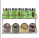 sheng Bottiglie di condimento per condimenti di scatole di condimento per scatole di condimento in vetro per condimenti di cucina