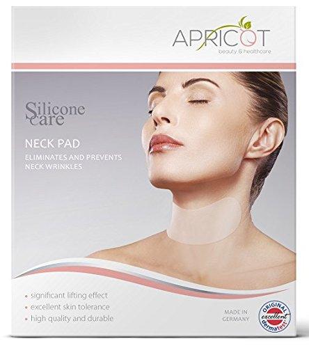 NEU Original Silicone care® Anti-Falten Hals Pad / Neck Pad - wiederverwendbar! Für einen faltenfreieren, strafferen Hals!!