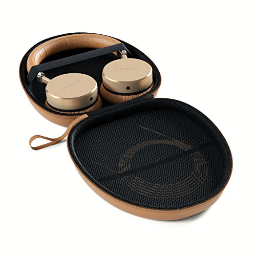 Satechi Kopfhörer Kunstlederhülle für unter anderem die Satechi Aluminium Bluetooth Kopfhörer, Bose QuietComfort, Acoustic Noise Cancelling Kopfhörer, Bose Around-Ear, SoundLink around-ear, Bose On-Ear, SoundTrue Kopfhörer Around-Ear, Sony MDR-V700DJ - 2