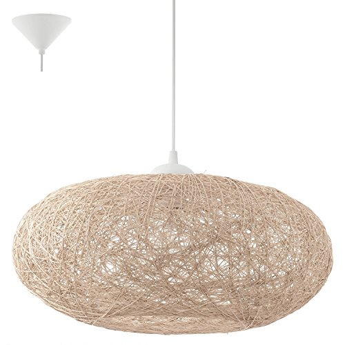 Suspension luminaire - Suspension Campilo 45 cm Beige