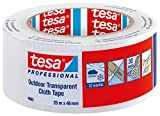 Tesa Professional Gewebeband, 48 mm x 25 m, Transparent