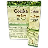 Goloka Original Indische Räucherstäbchen Patchouli 180 Gramm 12X15 Gramm preisvergleich bei billige-tabletten.eu