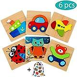 E-MANIS Puzzle in Legno Giochi per Bambini Set di, 1 2 3 Anni Bambina 4 5...