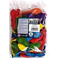 Karaloon G00199 - Big Party Pack, 150 Ballons, bunt sortiert