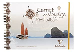 Clairefontaine PP Album de voyage, A4, 30 white pages - Chine