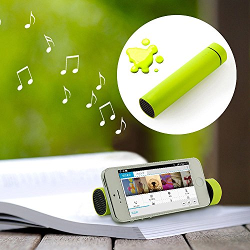 style-icon-new-3-in-1-external-power-bank-battery-speaker-stand-green-forapple-iphone-3-3g-4-4s-5-5s
