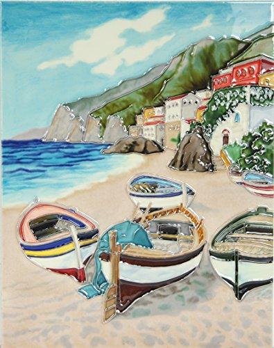 yh-arts-fishing-village-ceramic-tiles-multi-colour-11-x-14-inch