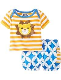 Mud Pie Baby-Boys Newborn Lion 2 Pc Set