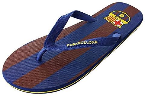 Jungen Flip-Flops Barça, offizielles Produkt von FC Barcelona, Kindergröße, mehrfarbig - mehrfarbig - Größe: