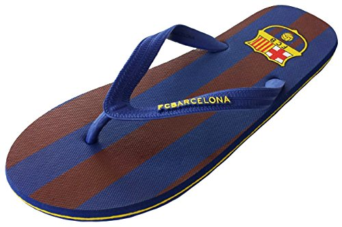 Tongs claquettes Barça - Collection officielle FC BARCELONE - Taille adulte homme