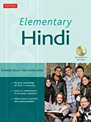 Elementary Hindi Hardcover with disc Edition by Delacy, Richard, Joshi, Sudha published by Tuttle Publishing (2009)