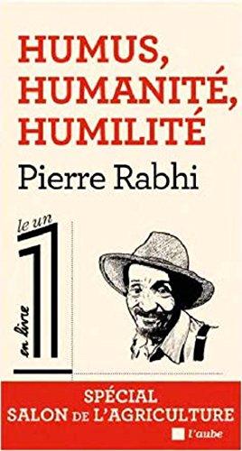 Humus, humanité, humilité