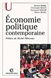 Economie politique contemporaine - Armand Colin - 03/06/2002