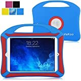 iPad Mini 4 Custodia - Vakoo iPad Mini 4 Cover Silicone Antiurto Resistente Protettiva Case Cover per Apple iPad Mini 4 (Blu)