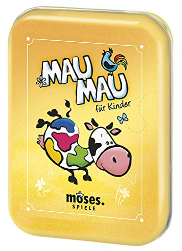 moses. 90321 Mau-Mau Kartenspiel   Spiele-Klassiker   Für Kinder ab 5 Jahren (Spiele-klassiker Kinder Für)