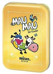 Moses. 90321MAU Juego de Cartas, clásico de Juegos, para niños a Partir de 5años, Multicolor
