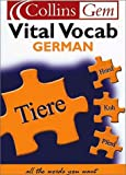 German Vital Vocab (Collins Gem)