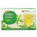 Tegut Pfefferminztee, 20 Beutel (1 x 30 g)