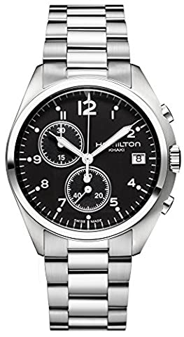 Hamilton Khaki Pilot Pioneer Mens Watch H76512133 - Hamilton Da Polso Al Quarzo