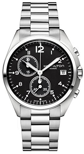 Hamilton H76512133 - Orologio da polso da uomo, cinturino in acciaio inox colore argento