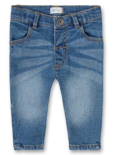 Sanetta Unisex Baby Jeans Trousers Denim, Blau (Blue Moon 9476.0), 92