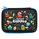 #8: Smily Kiddos Hardtop Pencil Box with Compartment for Kids (Black)