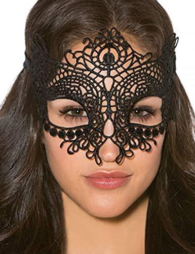 Kiras-World C8mask-BM Damen Mehrfarbig One Size Augen-Maske Kostüme Party Halloween Karneval Wild Geheimnisvoll