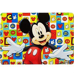 alles-meine.de GmbH Unterlage – Disney – Mickey Mouse – als Tischunterlage / Platzdeckchen / Malunterlage / Knetunterlage / Eßunterlage / Platzset / Platzmatte – 42 cm * 30 cm – ..