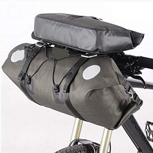 Bike Bag wasserdicht Fahrradtasche Hohe Kapazität MTB Road Bike Handlebar Tasche Bag Radweg-Baschen Vorderkoffer Pannier Bike Zubehör (Road Bike Bag)