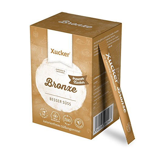 Xucker Bronxe Sticks, Erythrit mit natürlichem Aroma - 40 x 4,5 g Sticks (= 180 g)