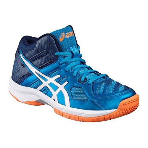 Asics Scarpe Volley Junior - Gel Beyond 5 Mt Gs - C641N-4301 - Blue Jewel/White/Hot orange-35