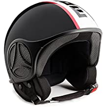10020040035 - Casco Momo de diseño Mini S6, color antracita, BOR/BLK,