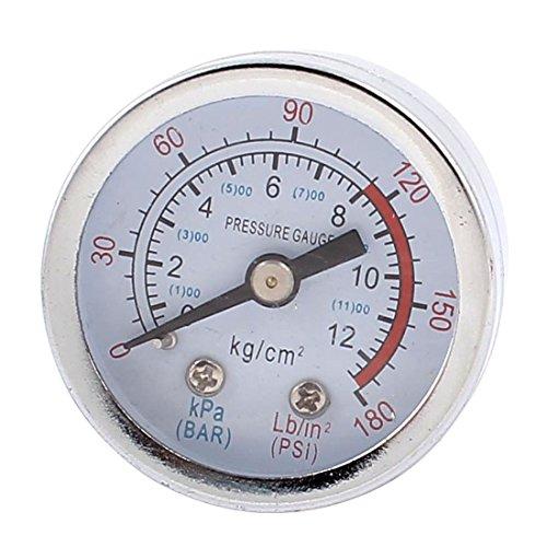 Pneumatischer Druckluftmesser, Manometer, 4,3cm Durchmesser, 0-1300kPa