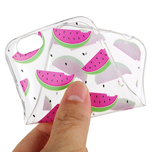 Custodia Cover Per Apple iPhone 6S/6 , WenJie Nuvole unicorno Trasparente Silicone Sottile Back Case Molle di TPU Trasparente per Apple iPhone 6S/6 4.7 HX54