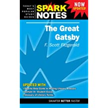 """The """"Great Gatsby"""" (SparkNotes Literature Guide)"""