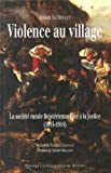 violence au village la soci?t? rurale finist?rienne face ? la justice 1815 1914