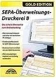 SEPA Überweisungs Druckerei 8 - die sichere Alternative zum Online Banking für Windows 10 / 8.1 / 8 / 7 -