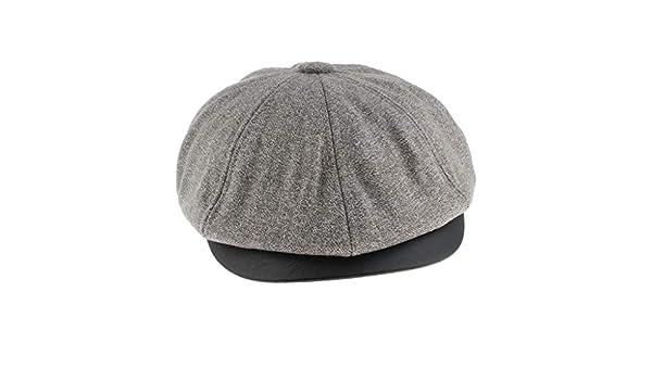 323d19131 Prettyia Men's Wool Flat Hat Ivy Gatsby Newsboy Hunting Cabbie ...