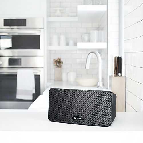 Sonos PLAY:3 I Vielseitiger Multiroom Smart Speaker für Wireless Music Streaming (schwarz) -