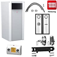 Oil heating Wolf COB-29 29kW oil condensing boiler with connection Set cob, Heating circuit