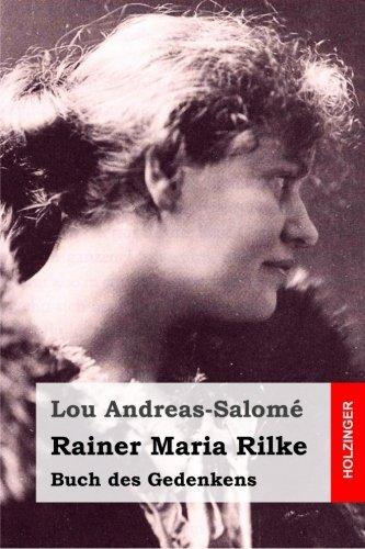 Rainer Maria Rilke (German Edition) by Lou Andreas-Salom?? (2016-01-13)