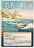 Poster 60 x 80 cm: côte D'Azur di ARTOTHEK - Stampa Artistica Professionale, Nuovo Poster Artistico