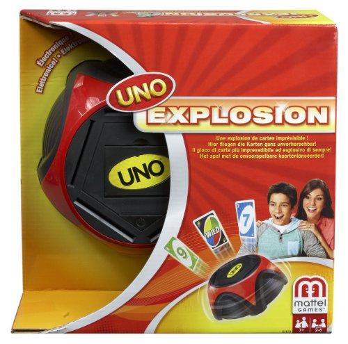 Preisvergleich Produktbild Mattel BJK79 - UNO Explosion, Kartenspiel