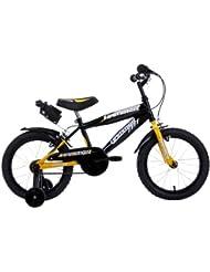 """Schiano Hammer - Bicicleta (incluye porta botellas) amarillo Talla:16"""" (40,64 cm)"""