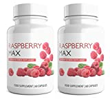 Raspberry Ketones Max Strength 2 Months Supply 120 Weight Loss Diet Pills Duo of Capsules Wild Raspberry Ketone Extract  Made In the UK
