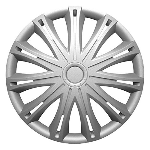 VOLKSWAGEN VW POLO (2004 - 2009) 14 Inch Spark Silver Car Alloy Wheel Trims Hub Caps Set of 4 - Buy Online in KSA. factor first products in Saudi Arabia.