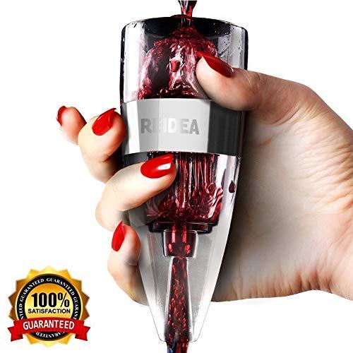 REIDEA Wein Dekanter Weinbelüfter mit Ständer, Schnellest Ernüchternd Rotwein Aerator...